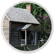 Jones Law Office Appomattox Court House Virginia Round Beach Towel
