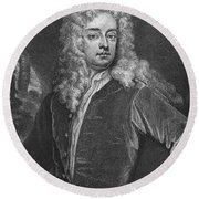 Joseph Addison (1672-1719) Round Beach Towel