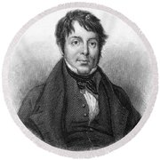 Joseph Grimaldi (1779-1837) Round Beach Towel