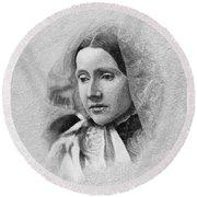 Julia Ward Howe (1819-1910) Round Beach Towel