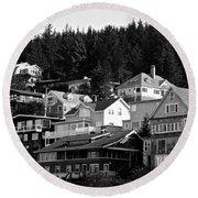 Juneau Homes Round Beach Towel
