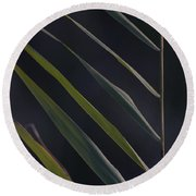 Just Grass Round Beach Towel