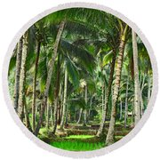 Kabune Round Beach Towel