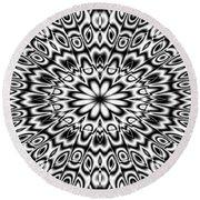 Kaleidoscope Round Beach Towel