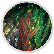 Kelp Forest Round Beach Towel