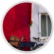 Kinsale, Co Cork, Ireland Bicycle Round Beach Towel