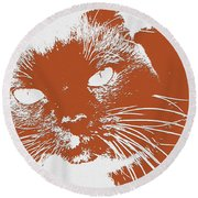 Kit Kat Round Beach Towel