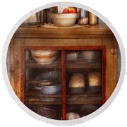 Kitchen - The Cooling Cabinet Round Beach Towel
