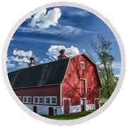 Knox Barn 13829c Round Beach Towel