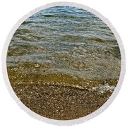 Lake Calhoun Round Beach Towel