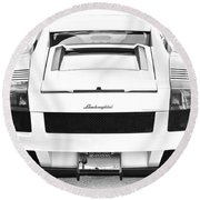 Lambo Gallardo Round Beach Towel