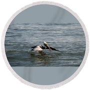 Landing Round Beach Towel