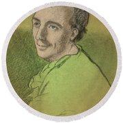 Laurence Eusden, English Poet Laureate Round Beach Towel