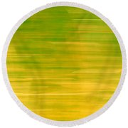 Lemon And Limes Round Beach Towel