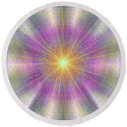 Let There Be Light 2012 Round Beach Towel