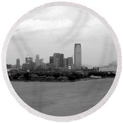 Liberty Science State Park Round Beach Towel
