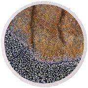 Lichen Pattern Series - 11 Round Beach Towel