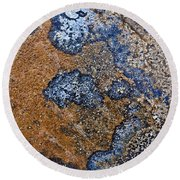 Lichen Pattern Series - 35 Round Beach Towel