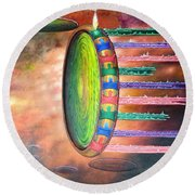 Life After Life Round Beach Towel