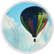 Lighter Than Air Round Beach Towel