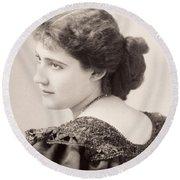 Lily Hanbury (1874-1908) Round Beach Towel