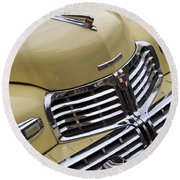 Lincoln Grille Round Beach Towel