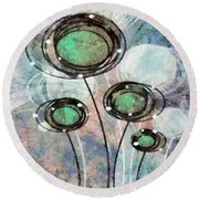 Lollipop 3 Round Beach Towel