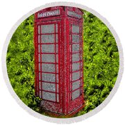 London Calling 2012 Round Beach Towel