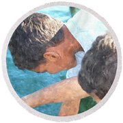 Looking For Treasures Ltwc Round Beach Towel