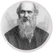 Lord Kelvin (1824-1907) Round Beach Towel