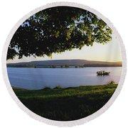 Lough Arrow, Co Sligo, Ireland Lake In Round Beach Towel
