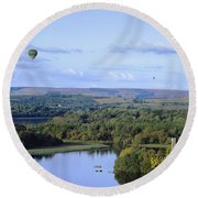 Lough Key Forest And Activity Park Round Beach Towel