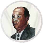 Louis Tmpkins Wright Round Beach Towel