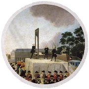 Louis Xvi (1754-1793) Round Beach Towel