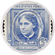 Louisa May Alcott (1832-1888) Round Beach Towel