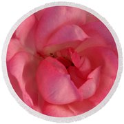 Lovely Lady Round Beach Towel