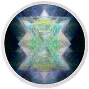 Love's Chalice From The Druid Tree Of Life Round Beach Towel