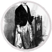 Lucy Stone (1818-1893) Round Beach Towel