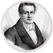 Ludwig Tieck (1773-1853) Round Beach Towel