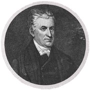 Lyman Beecher (1775-1863) Round Beach Towel