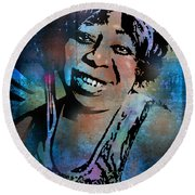 Ma Rainey Round Beach Towel