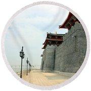 Macau Fisherman's Wharf Round Beach Towel