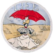 Magazine: Life, 1897 Round Beach Towel
