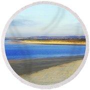 Magheraroarty, County Donegal, Ireland Round Beach Towel