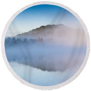 Magic Morning Round Beach Towel