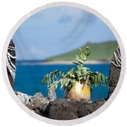 Magic Place Round Beach Towel