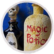 Magic Potion Round Beach Towel