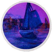 Magic Voyage Round Beach Towel