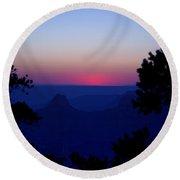 Magical Evening - Grand Canyon Round Beach Towel