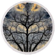 Magical Tree Round Beach Towel